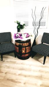 Wine Barrel For Rent