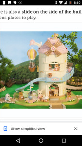 Rare Calico Critters Baby Playhouse