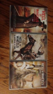 Hell on wheels dvd seasons 1,2 and 3