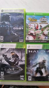 Xbox games three Halo