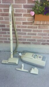 Electrolux vacuum cleaner with attachments, filters and bags
