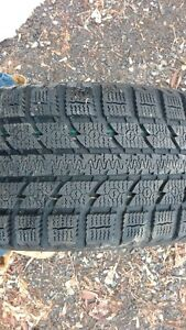 225/60 R16 Snow Tires For Sale on rims Kingston Kingston Area image 1