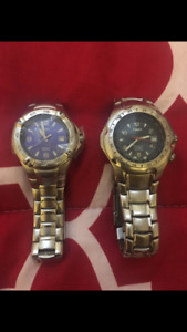 2 Timex watches & batteries included..