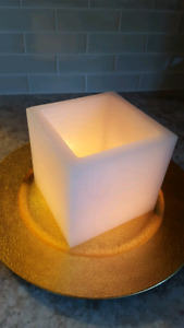 Partylite square luminary candle holder