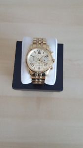 Michael Kors Lexington Gold Chronograph Watch (MK8281)
