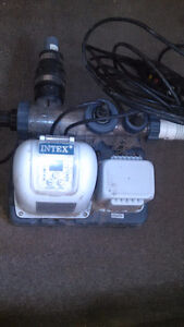 Salt water unit/pump and other things for pool
