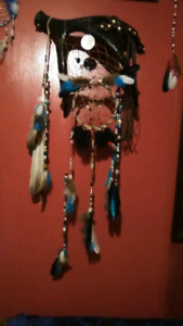 Feather and Bead Art!