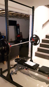 Bench press + Pull up Station