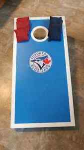 Blue Jays Handcrafted Cornhole Bean Bag Toss Game Kitchener / Waterloo Kitchener Area image 3