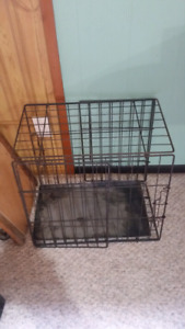 Small dog crate $20.00