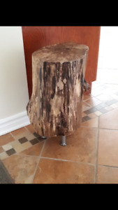 Belle Table en Buche de Bois