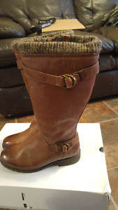 Aldo Leather Boots Brand New Never Worn