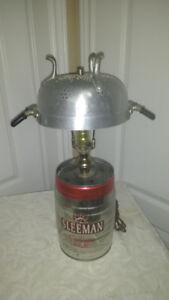 unique treasures house, sleeman beer keg lamp