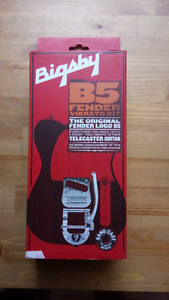 FENDER PARTS FOR SALE:  Bigsby and BLACK Tuning Pegs