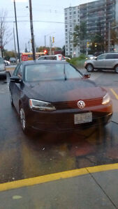 2014 Volkswagen Jetta Black on black