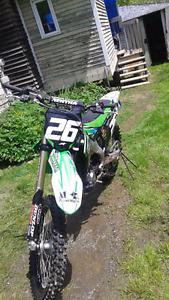 Motocross top shape