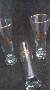 1988 Calgary Winter Olympic Glasses-15 -snowflake and torch