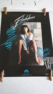 Flashdance Jennifer Beals Movie Video Promo Poster Original Rolled