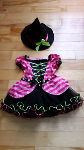 Costume d'halloween pour fille 2T
