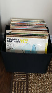 70+ 33 RPM Vinyl Records From 50's, 60's, & 70's