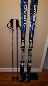HEAD Skis/poles and boots