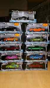 1:43 Diecast GreenLight Fast and Furious Car Collection