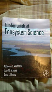 Weathers Strayer - Fundamentals of Ecosystem Science