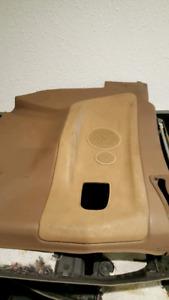 E36 convertible tan rear panels