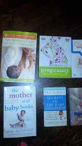 Pregnancy and Baby Books -EUC