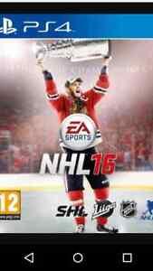 Jeu NHL 2016