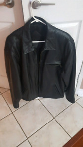 Men's Winter jackets Leather, faux leather, suede