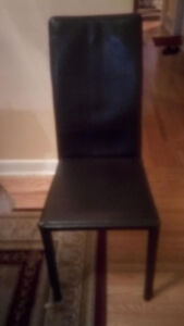 Dining chairs, paid delivery avilable