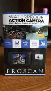 New Proscan water proof action camera