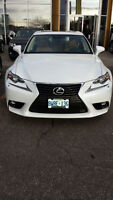 2015 Lexus IS 250 AWD Sedan - LEASE TAKEOVER!!