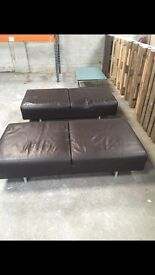 Soft seating leather x2