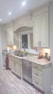 SUPER DEAL for maple solid-wood cabinetry.Legendary kitchen&bath Oakville / Halton Region Toronto (GTA) image 1