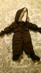 Baby Gap down snowsuit 6-12 mos