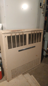 Space heater. Chromalox. Would be great for cabins, work spaces