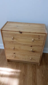IKEA RAST 3-drawer chest, Solid Pine wood