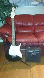 Pevey 3\4 guitar and amp kit