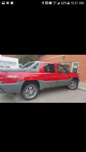 2002 Chevrolet Avalanche Z-71 Pickup Truck Fully Loaded