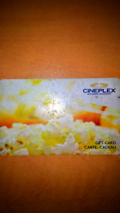 Cineplex $25 card for $10!!