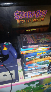 Game cube with 14 games