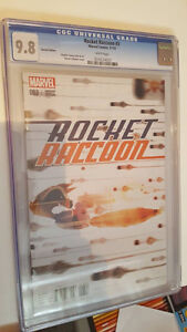 Rocket Raccoon #3, CGC Graded 9.8, variant cover