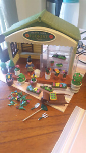 Mighty town florist playset