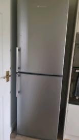 Fridge freezer hotpoint silver
