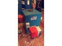Complete oil heating system warmflow boiler and RDB burner £140