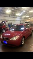 2010 Hyundai Elantra Gls, manual transmission ! Amazing shape !