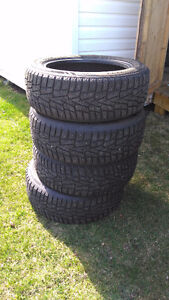 Winter tires like new 215/55r17