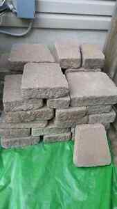 3.5 inch Thick Retaining Wall Capstones